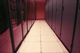 Data Center aisle