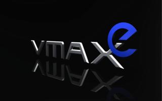 VMAXe logo on black
